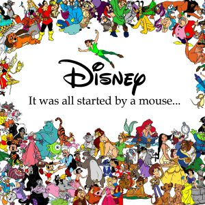 Disney人物扭蛋
